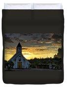 A Heavenly Morning  Duvet Cover