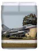 A Hellenic Air Force F-16d Block 52+ Duvet Cover