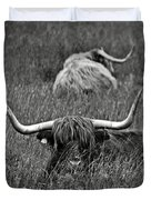 A Highland Cattle In The Scottish Highlands Duvet Cover
