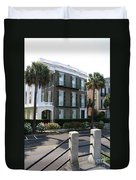 A Historic Home On The Battery - Charleston Duvet Cover