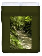 A Hole In The Forest Duvet Cover by Bob Phillips