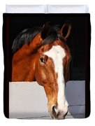 A Horse Is A Horse Of Course By Diana Sainz Duvet Cover
