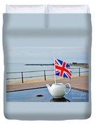 A Jubilee Cuppa Duvet Cover