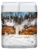 A Land Of Snow And Ice Duvet Cover