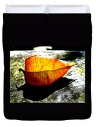 A Lantern Lit By Sunlight Duvet Cover