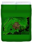 A Leaf Upon A Leaf Duvet Cover