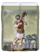 A Lictor, Bearer Of The Fasces Duvet Cover