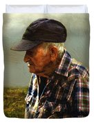 A Lifetime In The Fields Duvet Cover by RC deWinter