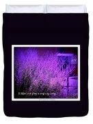 A Little Love Duvet Cover by Bobbee Rickard