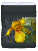 A Lively Soul Blooms Duvet Cover