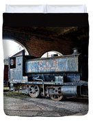 A Locomotive At The Colliery Duvet Cover