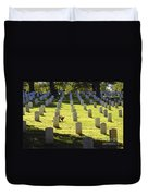 A Lone Remembrance Duvet Cover