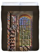A Look From The Library Duvet Cover by Susan Candelario