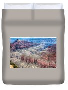 A Look Into The Grand Canyon  Duvet Cover