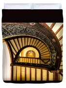 A Look Up The Stairs Duvet Cover