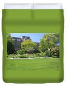 A Lovely View Of A Little Garden At The United States Military A Duvet Cover