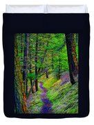 A Magical Path To Enlightenment Duvet Cover
