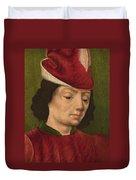 A Male Figure Perhaps Saint Sebastian A Duvet Cover