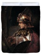 A Man In Armour, 1655 Duvet Cover