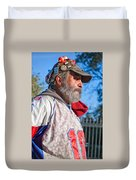 A Man With A Purpose Duvet Cover