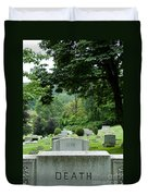 A Matter Of Life And Death Duvet Cover