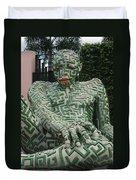 A Maze Ing Man 1 Duvet Cover