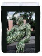 A Maze Ing Man 5 Duvet Cover