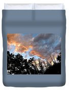 A Memorable Sky Duvet Cover