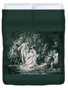 A Midsummer Nights Dream Duvet Cover by Henry Fuseli