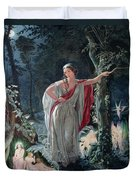 A Midsummer Nights Dream Hermia Duvet Cover