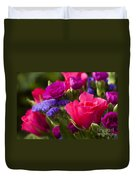 A Mixed Bouquet Duvet Cover