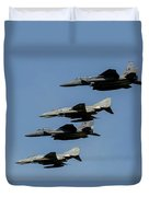 A Mixed Formation Of U.s. Air Force Duvet Cover