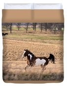 A Moment Of Freedom Duvet Cover