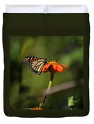 A Monarch Butterfly 1 Duvet Cover