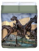 A Monument To Freedom Duvet Cover