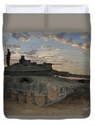 A Morning Prayer On An Israel Defense Duvet Cover