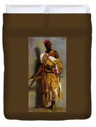 A Moroccan Guard Duvet Cover