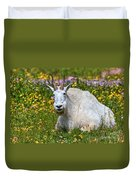 A Mouthful Of Flowers Duvet Cover
