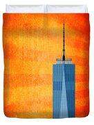 A New Day - World Trade Center One Duvet Cover