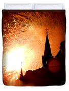 New Orleans St. Louis Cathedral A New Day A New Year In Louiisana Duvet Cover