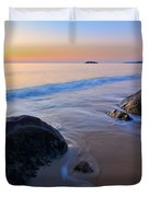 A New Day Singing Beach Duvet Cover