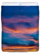 A New Day Starts Duvet Cover