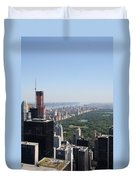 A New Skyscraper In Nyc Skyline Duvet Cover