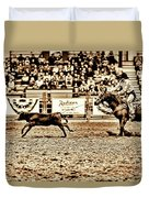 A Night At The Rodeo V11 Duvet Cover