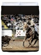 A Night At The Rodeo V12 Duvet Cover