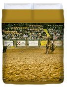 A Night At The Rodeo V16 Duvet Cover