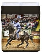 A Night At The Rodeo V19 Duvet Cover
