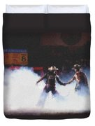 A Night At The Rodeo V3 Duvet Cover