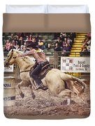 A Night At The Rodeo V34 Duvet Cover