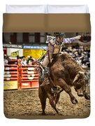 A Night At The Rodeo V6 Duvet Cover